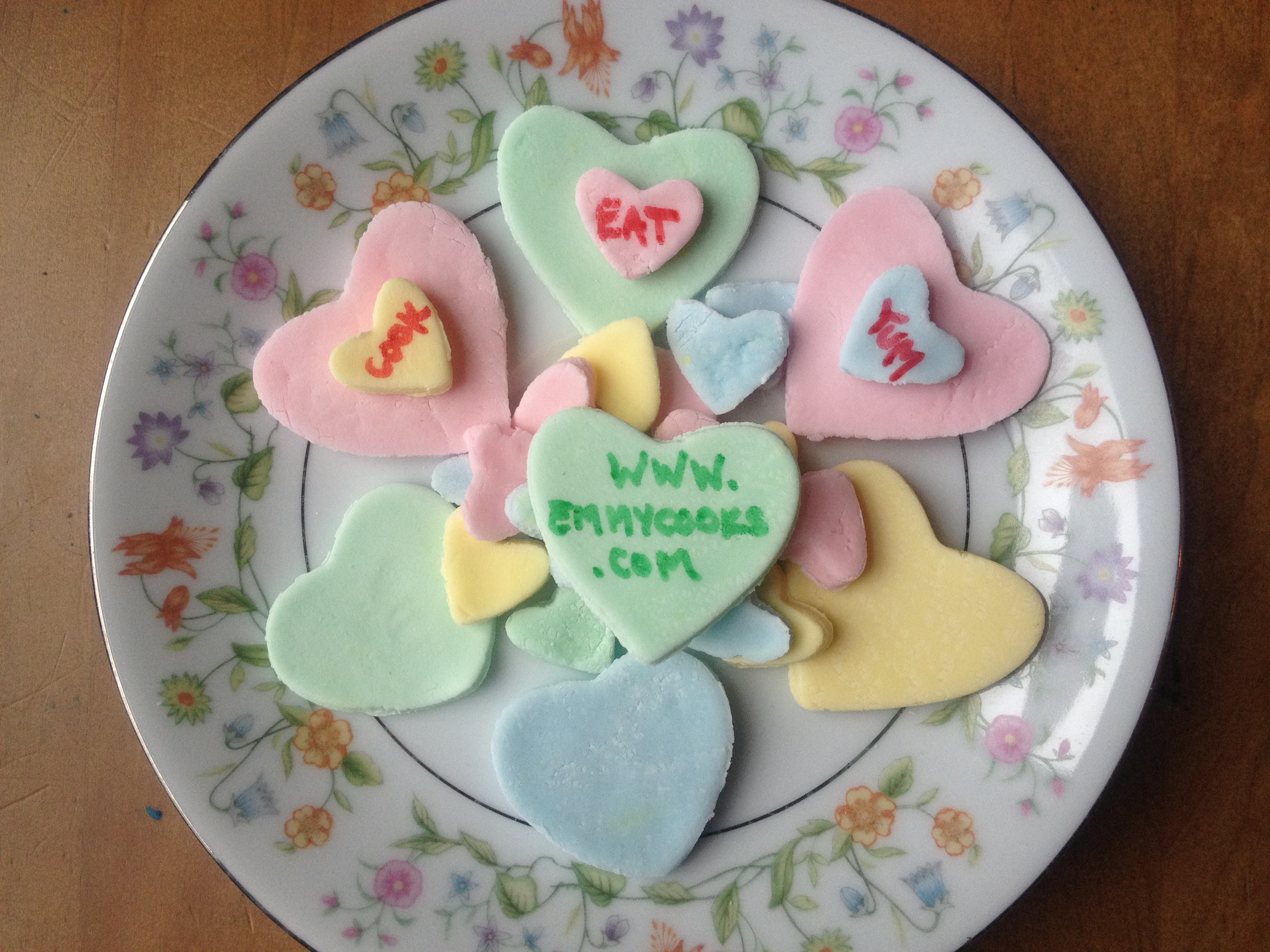 Say What You Mean With Homemade Conversation Hearts | Emmy Cooks