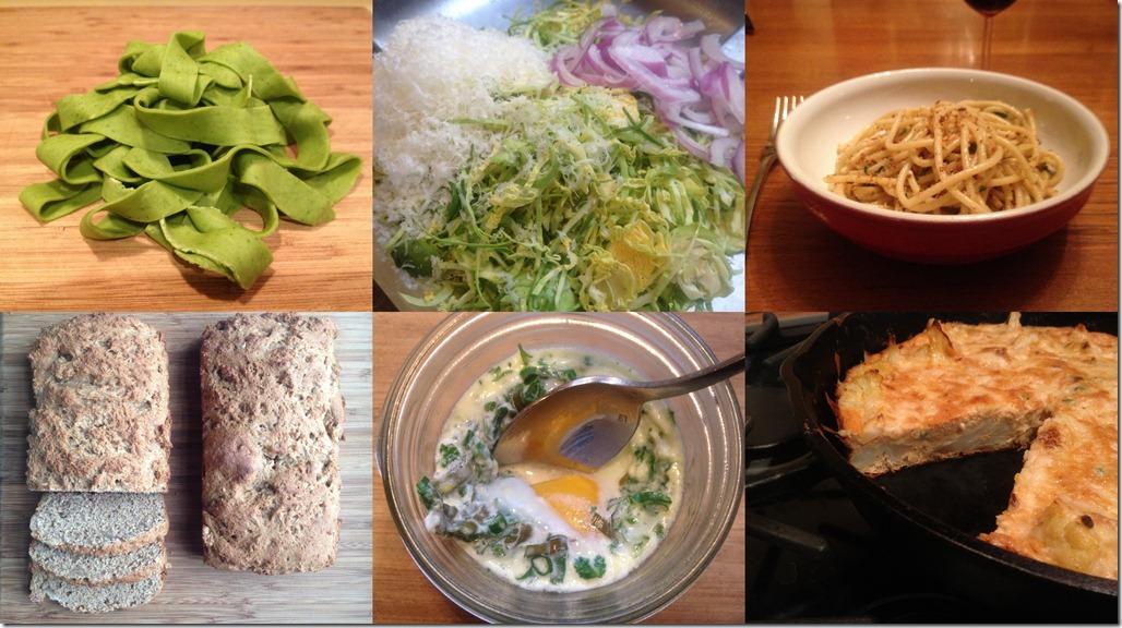 Favorite Recipes Collage Feb 2012