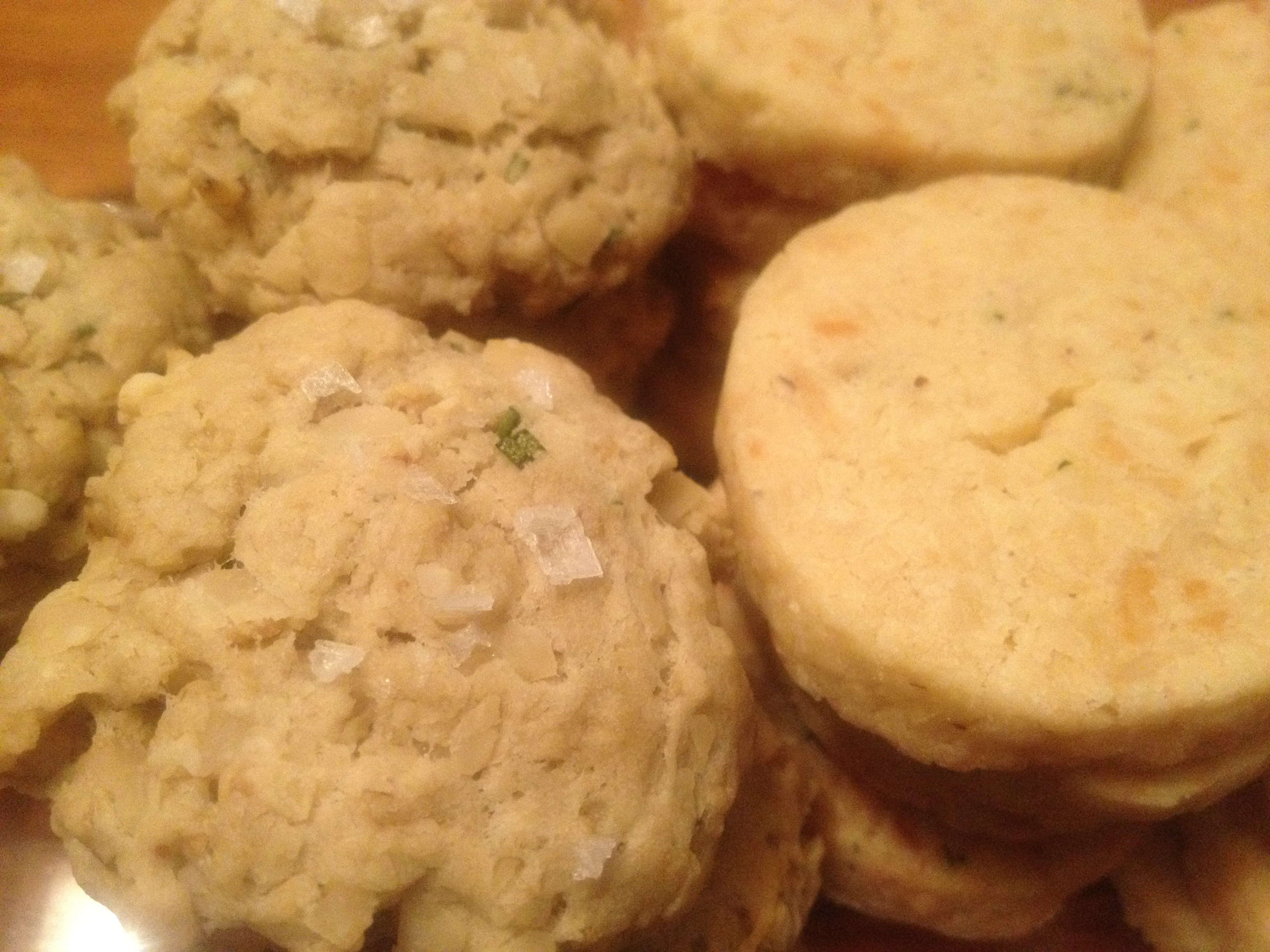 Savory Oatmeal Cookies with Rosemary, Black Pepper, and Parmesan ...