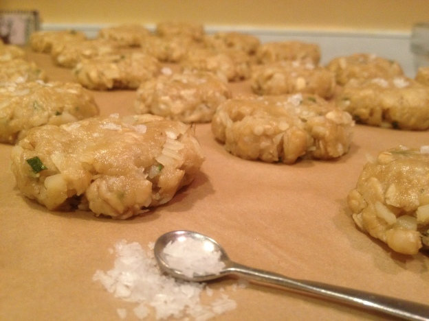 Oatmeal Cracker with Black Pepper, Parmesan, and Rosemary