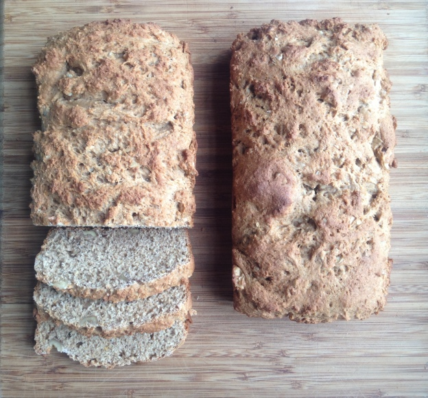 Whole Wheat Brown Sugar Quick Bread