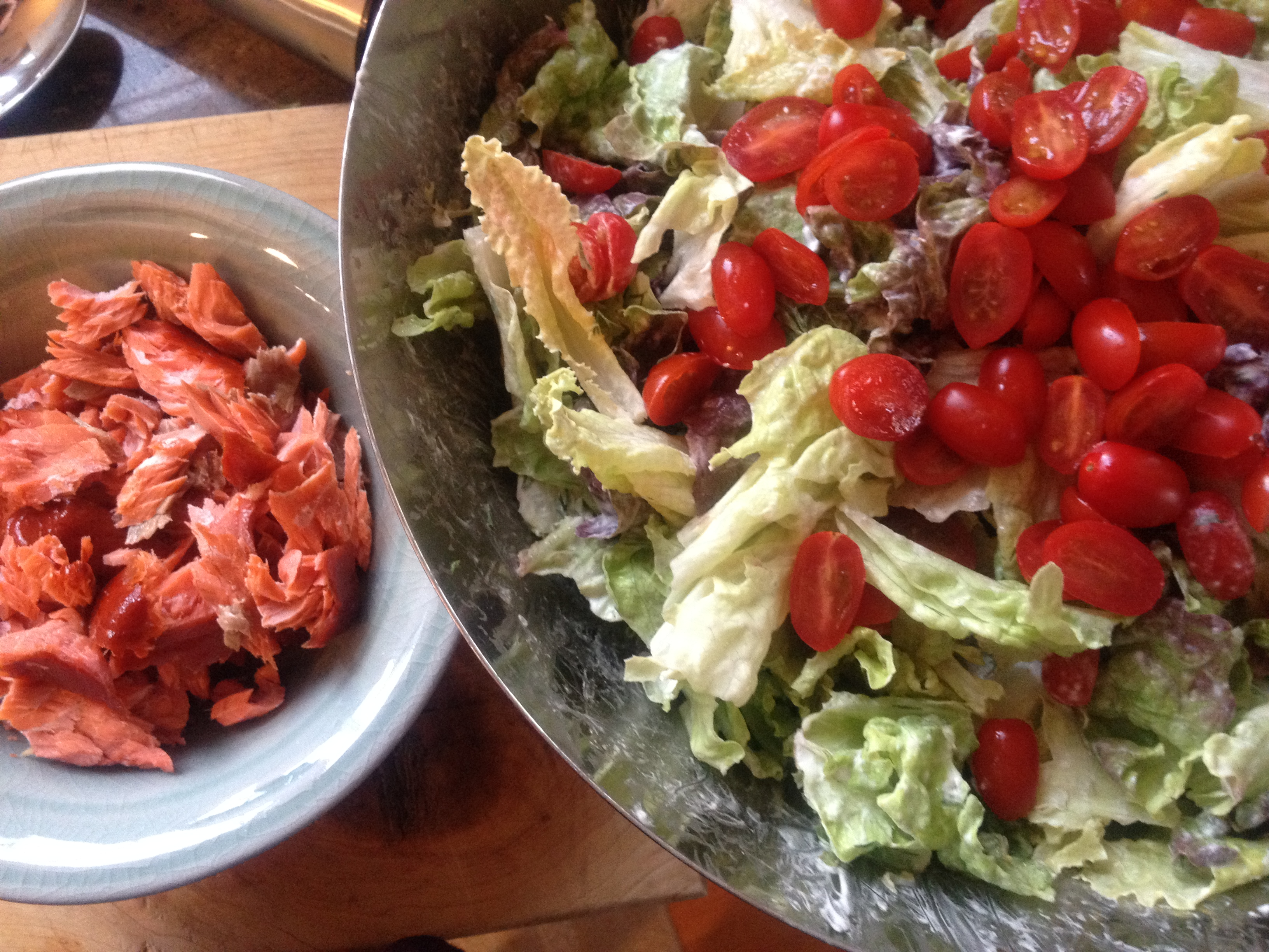 Dilled Salmon Salad Recipes — Dishmaps