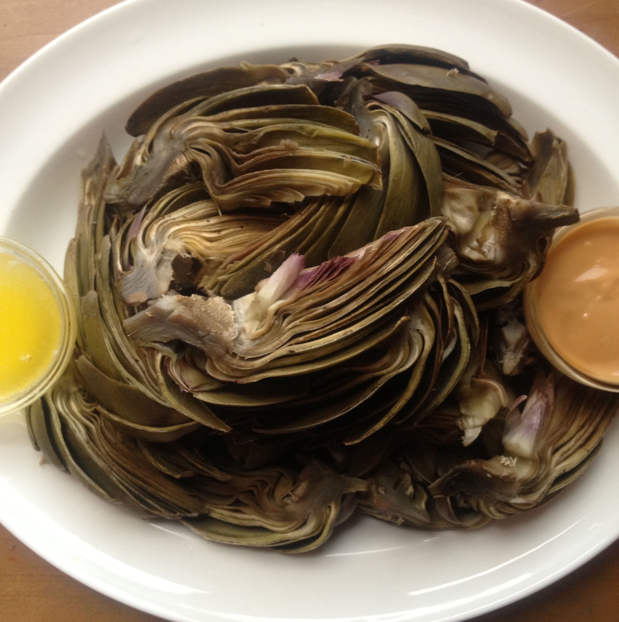 How to Steam Artichokes, or, Steamed Artichokes with Two Perfect ...