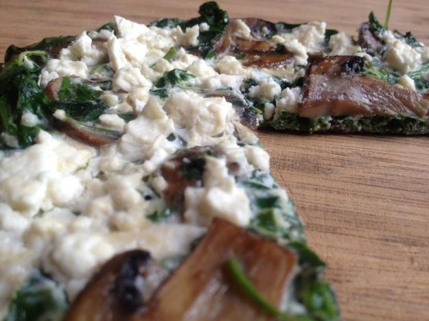 Single-Serving Frittata with Mushrooms, Arugula, and Feta | Emmy Cooks