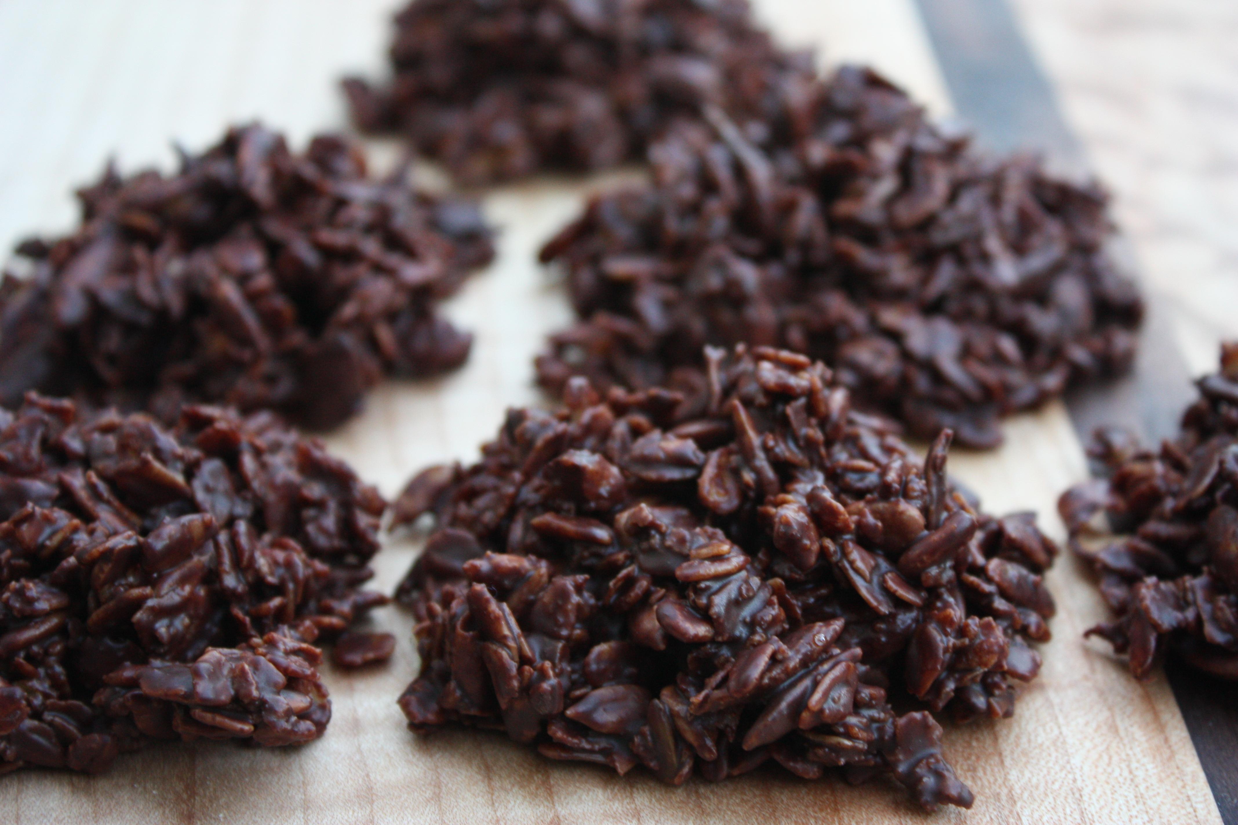 Crispy Chocolate-Granola Haystacks | Emmy Cooks