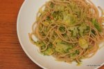 Whole Wheat Pasta With Brussels Sprouts (2)