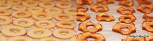 One-Ingredient Baked Apple Chips